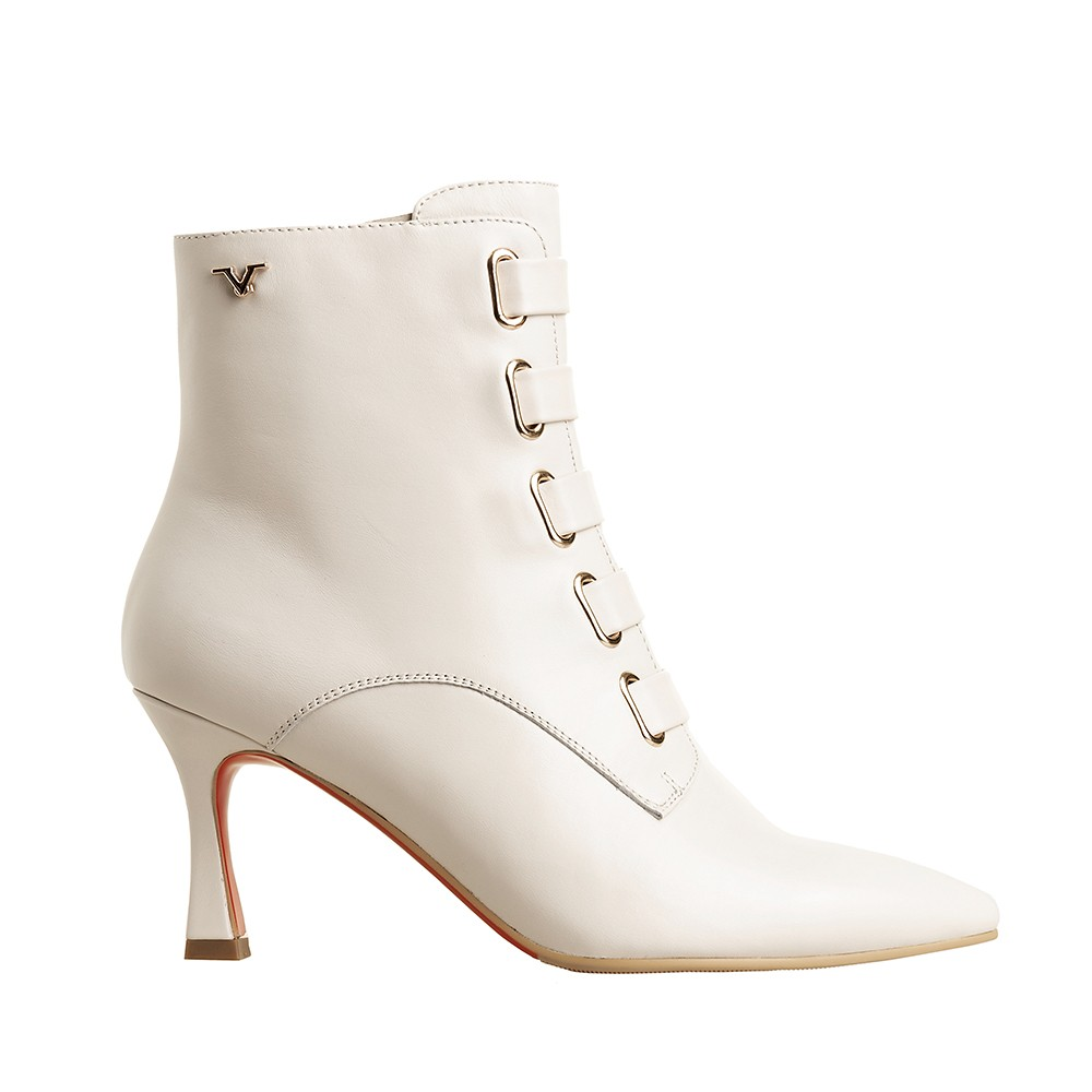 HIGH HEEL ANKLE BOOT WITH STRAPS ACC. V1969