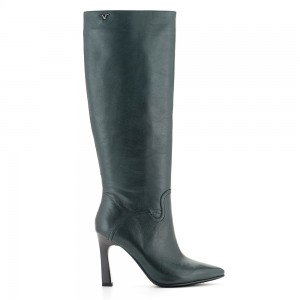 HIGH HEEL BOOT LEATHER V1969