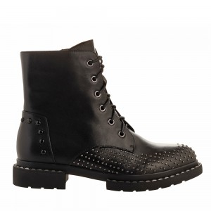 FLAT LACE-UP ANKLE BOOT V1969