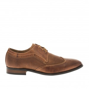 LACE UP DERBY NUBUCK GREENSTEP