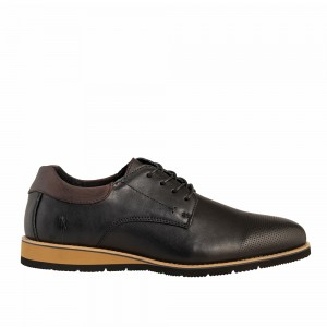CASUAL LACE UP NUBUCK GREENSTEP